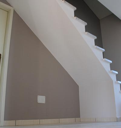 Travaux de peinture au plafond