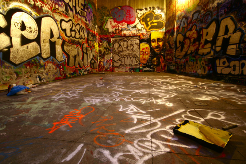 Vernis anti-graffiti